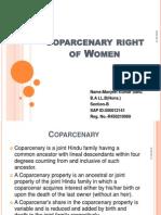 Coparcenary Right of Women