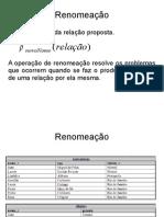 Bd2 Aula 2(Algebra Relacional)