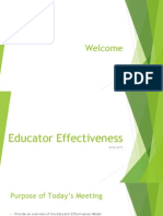 educator effectiveness power point