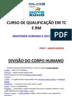 Anatomia Seccional - ANDRÉ BARROS- Aula 1