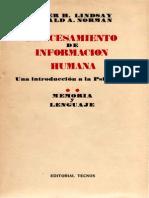 Lindsay-Norman 1972 Procesamiento de Información Humana II. Memoria y Lenguaje.pdf