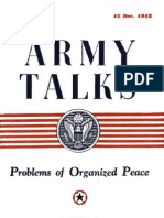 (1943) Army Talks
