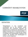 Community Rehabilitation