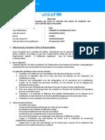 Consultant(e) National (e)_gestion Des Bases de Données_riposte Contre Ebola en Guinée _VA-2014-SSA-010,SSA