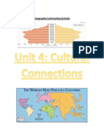 Geography Unit 4 Culminating Activity