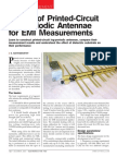 Design of Log-Antenna for EMI Measurement