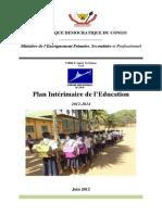 Plan Intérimaire Education 2012-2014