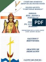 Culto 24-08-14