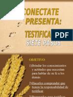 Curso Bíblico LAS 12 PIEDRAS FUNDAMENTALES Resumen Clase 10 Testificación