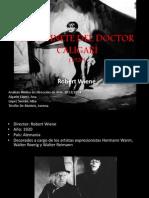 El Gabinete Del Doctor Caligari Presentacion