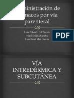 Administración de Fármacos Por Vía Parenteral