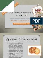Galletas Nutritivas de MEDUCA