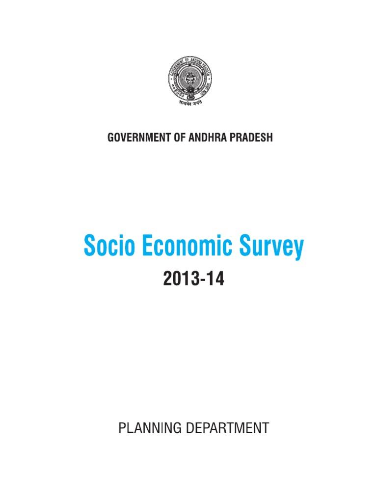 Socio Economic Survey Book Let | Vocational Education | College