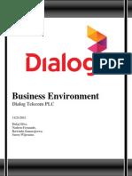 Dialog Telecom PLC_Business Environmen