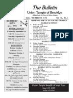UT Bulletin September 2014