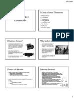 ICBT Manipulator Elements Sensors