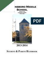 SMS Student Handbook 2013-2014 (1)