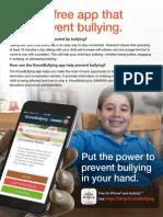 knowbullyingapp flyer