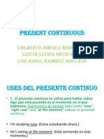 Present Continuous Expo Ingles