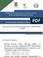 28_O Scurta Istorie a Compresiei Audio MPEG-1, MPEG-2, MPEG-4, MEG-7