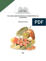 Vocabulário de Frutas Comestíveis Na Amazônia