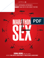 Borg, Sonia - Marathon Sex - Incredible Lovemaking Experiences Hotter and Longer Than Ever Before