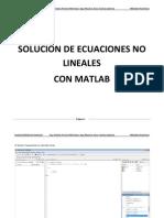 Solución de Ecuaciones No Lineales 1