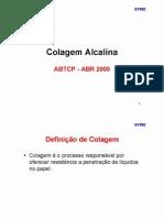 Colagem Alcalina