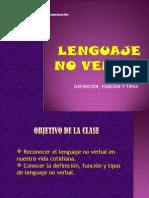 Lenguaje No Verbal. 7 y 8vo 2014