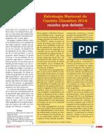 Estrategia Nacional de Cambio Climático 2014
