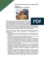 Bonificación Como Factor Salarial Para El Magisterio. Agosto 2014 (1)