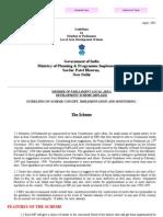 Member of Parliament Local Area Development Scheme (MPLADS)