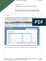 ASP.net MVC Paging Sort Example