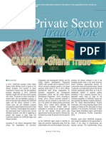 OTN - Private Sector Trade Note - Vol 2 2014 - CARICOM-Ghana Trade