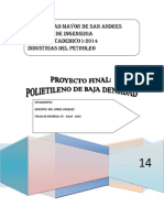 Informe Polietileno de Baja Densidad