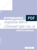 GV250 GT250 EFI Service Manual