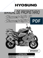 Manual de Propietario Comet 250 FI-250R FI (Español)