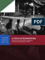Informe HRW Buenaventura