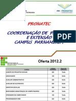 Apresentacao PRONATEC Site