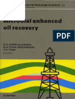 Microbal Enhanced Oil Recovery