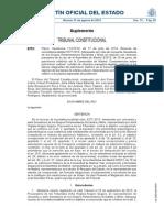 Sentencia del Tribunal Constitucional  5277-2013 de 17 de julio