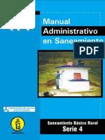 Manual Administrativo en Saneamiento