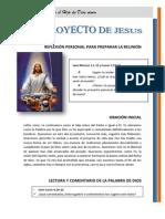 6 - El Proyecto de Jesus