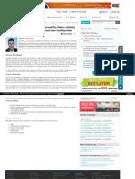 Design Inputs - Design Outputs Traceability Matrix Utilizing the Principles of Lean Documents and Lean Configuration