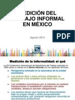 Jalisco Medicion de La Informalidad 2014