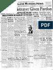 Methvin Reward and Pardon