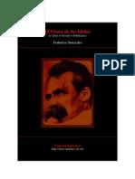 (eBook - Spanish) Friedrich Nietzsche - El Ocaso de Los Idolos