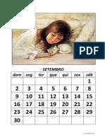 Calendario Modelo Criancas-Animais 2012-2013