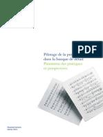 Etude Pilotage de La Performance Financière -2012