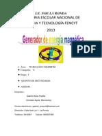 Generador magnetico